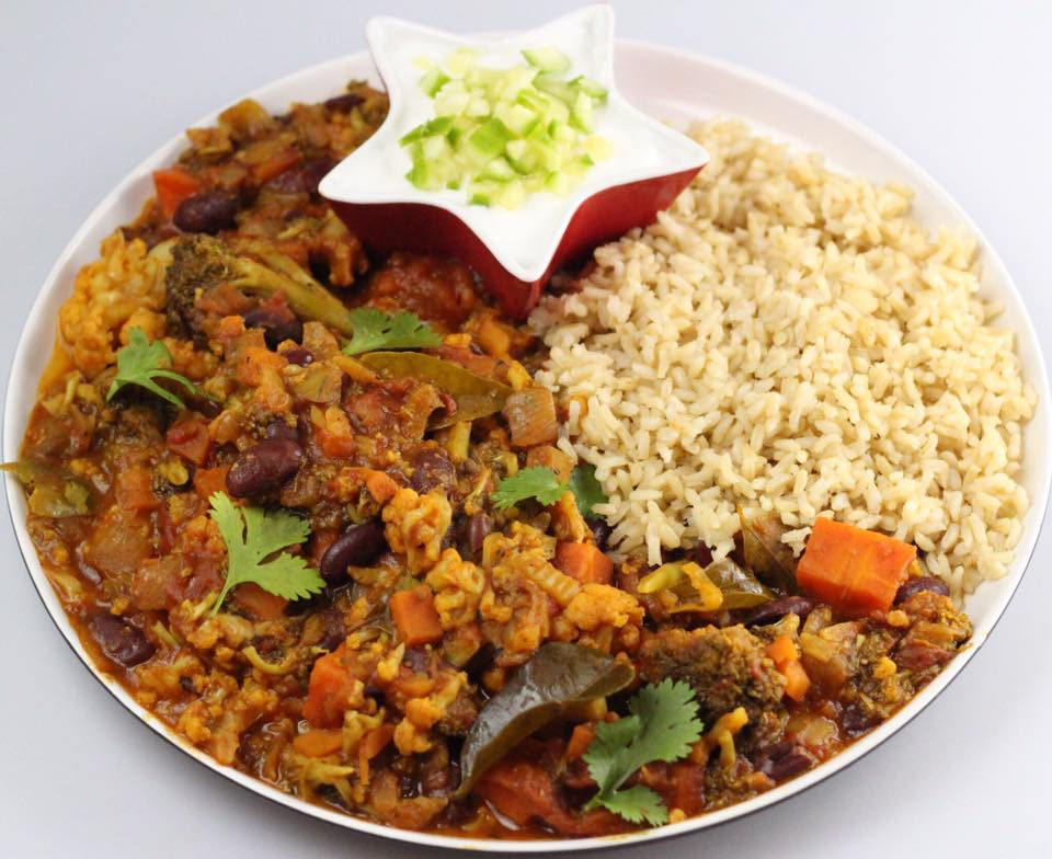 Darren Cutrupi's Red Kidney Bean and Vegetable Curry