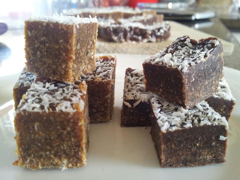 Caramelly Date Squares