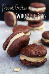 Peanut Butter Whoopie Pies (GF) – Recipe by Lauren Wright