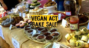 Spring Bake Sale, BBQ & Jumble Sale for Vegan ACT – 17 September 2016