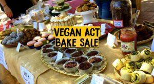 Spring Bake Sale, BBQ & Jumble Sale for Vegan ACT – 17 September 2016