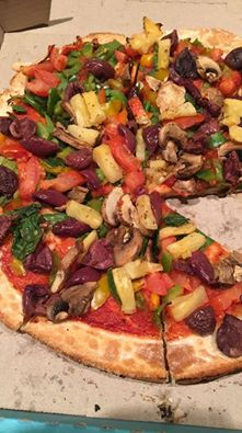 Veganised Pizza @ Dominos, Mawson