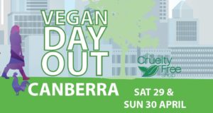 Vegan Day Out in Canberra (Video Wrap-Up and Radio Interview!) – 29 & 30 April 2017