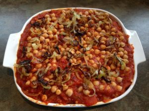 Kushari – a traditional Egyptian dish (Recipe simplified by Francine)