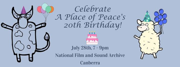 A Place of Peace Sanctuary's 20th Birthday – 28 July 2017
