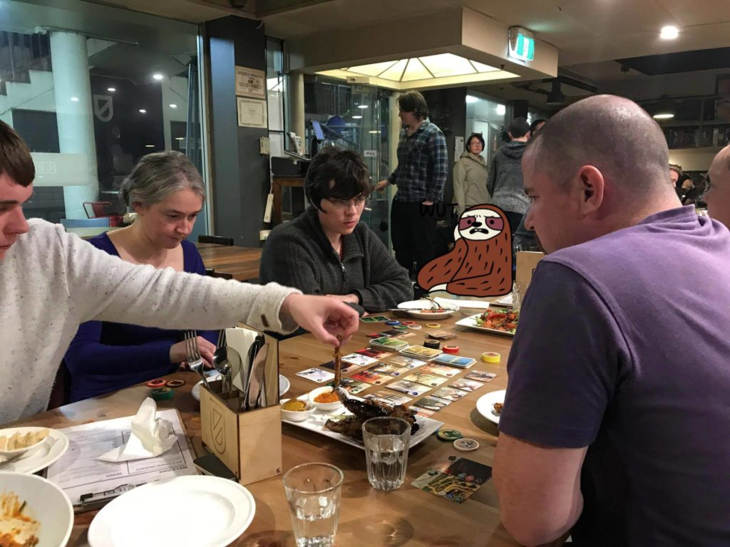 Vegan ACT Boardgaming + Banquet @ Guild! – 20 July 2017