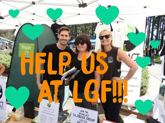 Help Us at Living Green Festival – Sunday, 1 October 2017