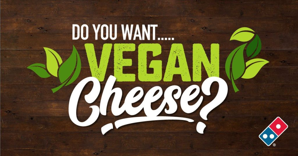 Domino's Pizza Now Offers Vegan Cheese!