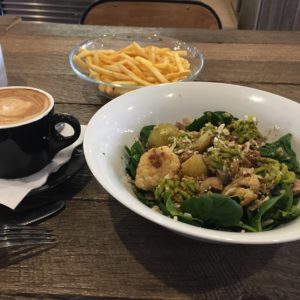 Cauliflower Salad @ Wheat & Oats, Phillip