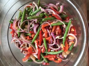 Three Bean Salad with Sweet Dressing – Classic Women's Weekly Recipe