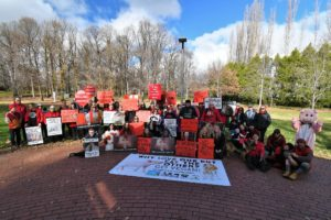 Photos from Canberra March to End All Slaughterhouses – 16 June 2018