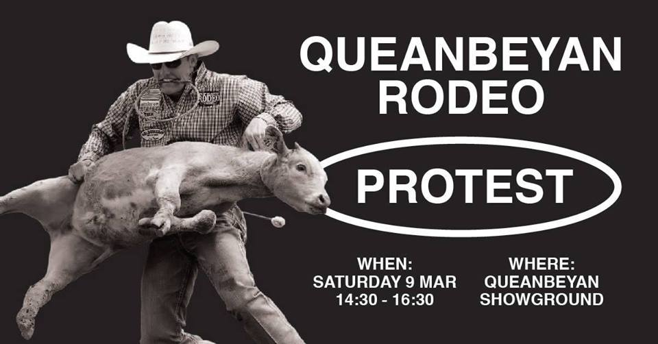 Queanbeyan Rodeo Protest – Saturday, 9 March 2019