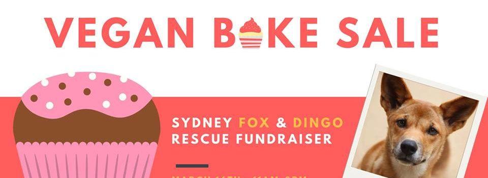 Vegan Bake Sale – Saturday, 16 March 2019