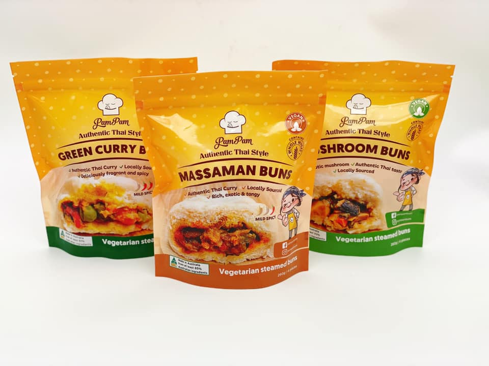 Pam Pam Vegan Thai-Style Buns – In ACT stores now!